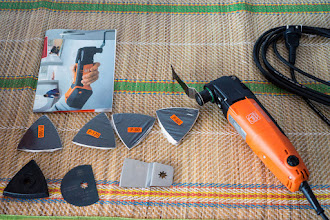 Photo: an oscillating tool that can: cut, saw, sand, polish... in ways other tools can't