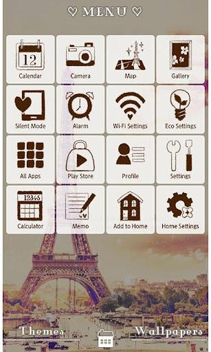 Eiffel Tower Theme-Paris sky- 1.0.1 Windows u7528 2