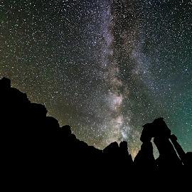 Druid Arch Silhouette by Trevor Hales - Uncategorized All Uncategorized