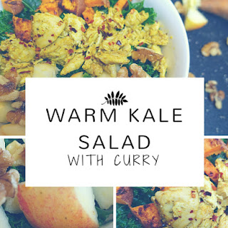 Warm Kale Salad With Curry