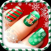 Christmas Nail Manicure Salon