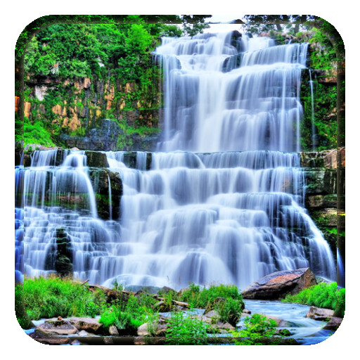 Wonderful Waterfall Wallpaper Icon
