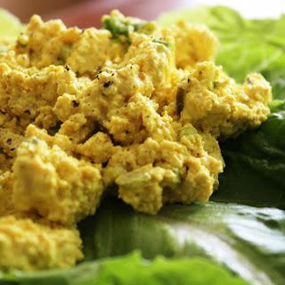 "Vegan Tofu ""Egg"" Salad."