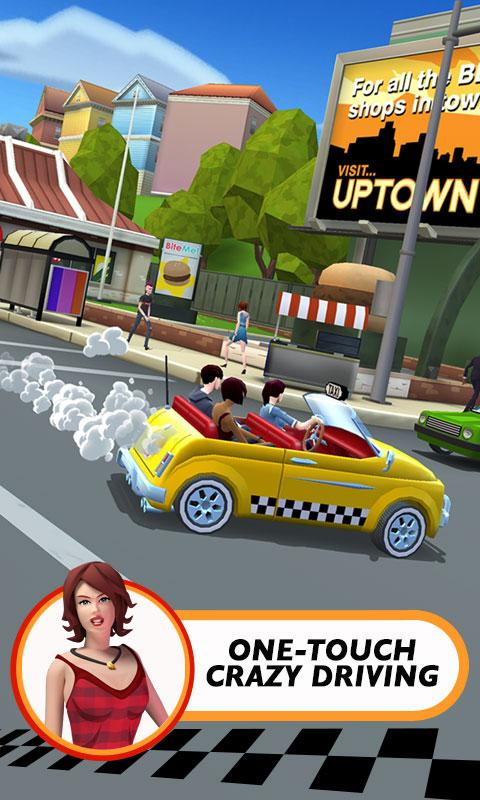Crazy Taxi™ City Rush screenshot #3