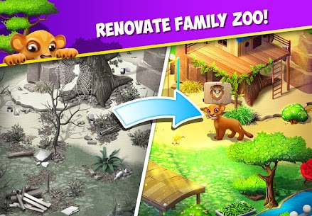 FAMILY ZOO MOD APK DOWNLOAD FREE HACKED VERSION 1