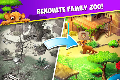 Family Zoo The Story 2.0.4 MOD (Unlimited Coins)