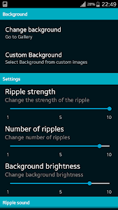 Water Ripple live Wallpaper screenshot 5