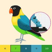 Birds Color By Number, Pixel Bird Coloring Android APK Download Free By DevMatrixApps