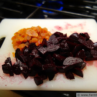 Apple/Apricot, Beet, Cranberry Sauce--Quick Take