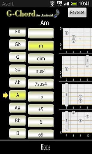 Gchord Guitar Chord Finder Apk Download Apkpure