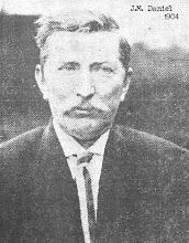 Photo: J.M. Daniel 1904 - Played a Big Role in Building Denton