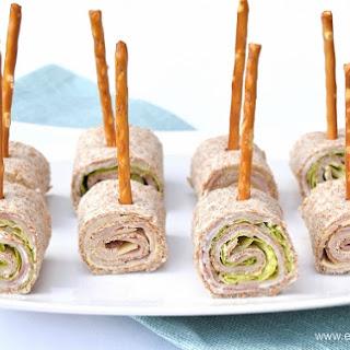 Tortilla Roll-Up Lollipops