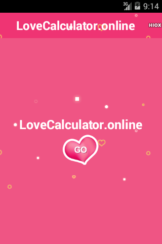 Love Calculator- screenshot