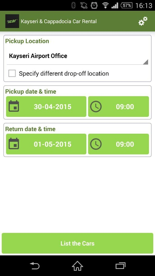 eCar Kayseri Car Rental- screenshot