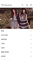 Screenshot of bebe – Women's Fashion