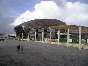Photo: Cardiff Bay The Millennium Centre