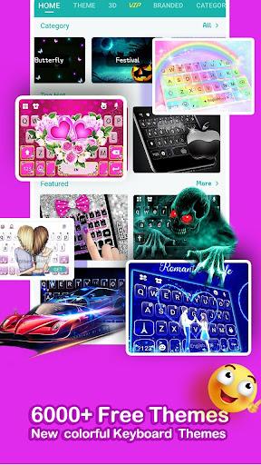 u2764ufe0fEmoji keyboard - Cute Emoticons, GIF, Stickers 3.4.2117 screenshots 2