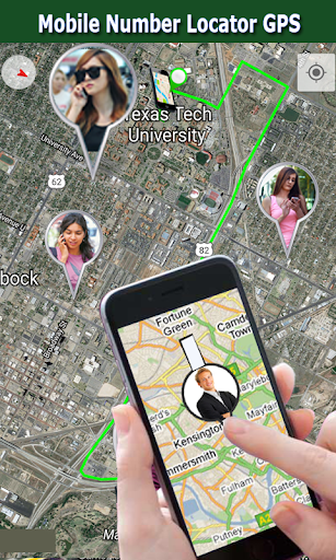 Mobile Number Location GPS 1.0 Screenshots 1