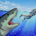 Raft Survival Angry Shark - Attack Games icon