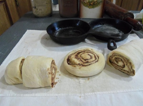 If you want larger rolls, cut thick & then with the palm of your...