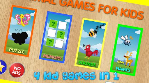 Animal Games For Kids 1.1 screenshots 1