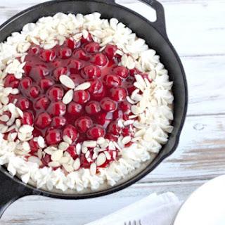 Cherry Cheesecake Skillet Cookie Pie