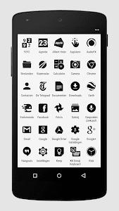 Zwart - Black Icon Pack v1.3.1