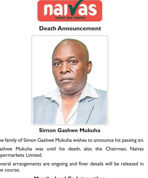 Simon Gashwe.