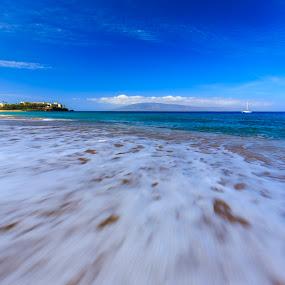 Kaanapali Beach, Maui, Hawaii by Daljit Singh - Landscapes Beaches ( maui, vacation, sea, beach, hawaii,  )