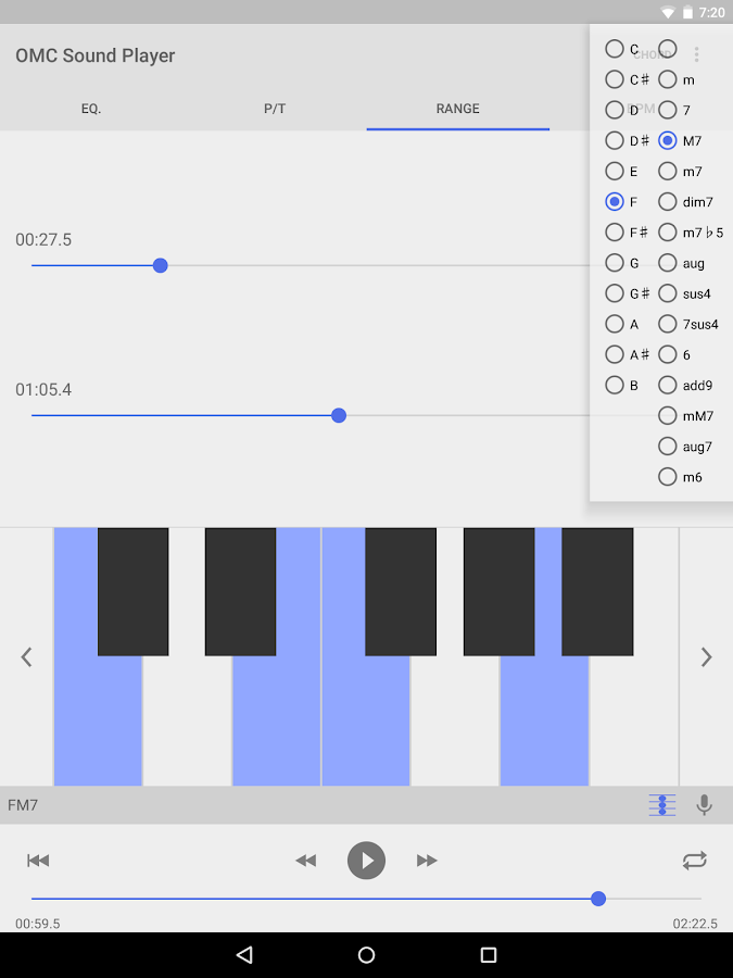 OMC Sound Player Pro- screenshot