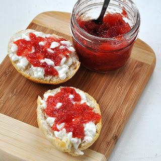 Strawberry Jam with Vanilla.