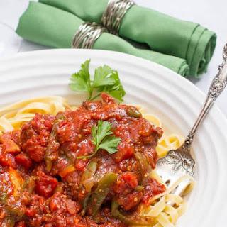 Saucy Italian Slow Cooker Pork Chops Recipe