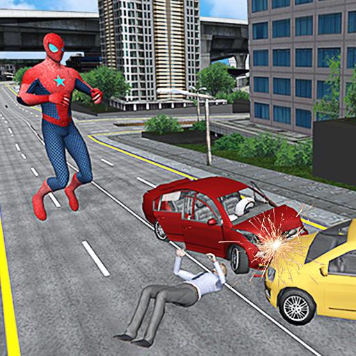 Spider Hero Super City Rescue