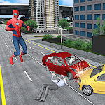 Spider Hero Super City Rescue Icon