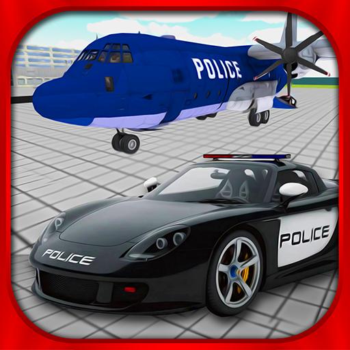 パトカー飛行機交通 賽車遊戲 LOGO-玩APPs