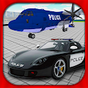 Police Car Airplane Transport icon