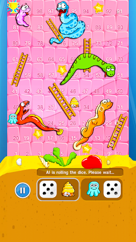 android Snakes And Ladders Screenshot 3