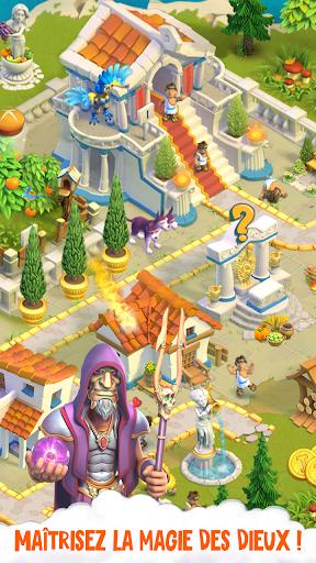 Télécharger Divine Academy: jeu de ferme avec les dieux grecs APK MOD (Astuce) screenshots 2