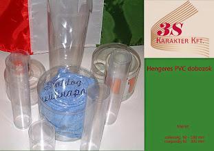 Photo: Hengeres PVC dobozok!