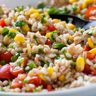 Fresh Orzo Salad With Barley And Rice