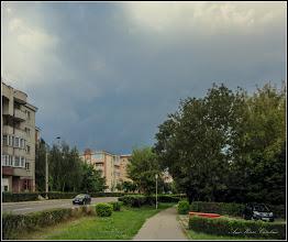 Photo: Turda - Vremea pe la noi...pe Calea Victoriei, alee pietonala - 2018.08.26