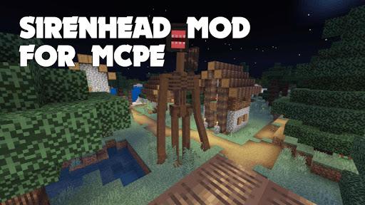 Siren Head Mod für MCPE Screenshots 1