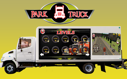 Park Truck-Driving Test Game