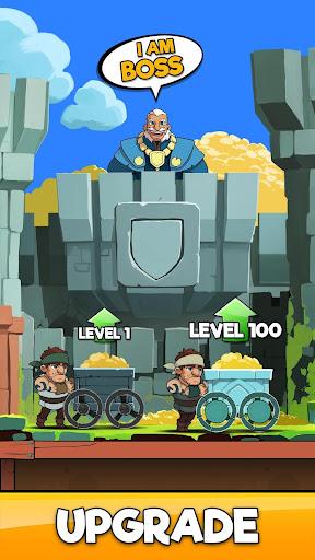 Idle Miner Kingdom - Simulateur de Fantasy RPG  captures d'écran 2