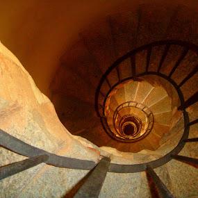 Spiral Stairs by Trippie Visser - Buildings & Architecture Other Interior