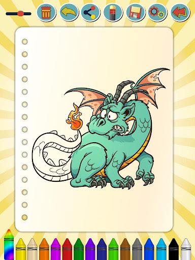 玩免費娛樂APP|下載ペイントするドラゴンズ&ステッカー app不用錢|硬是要APP