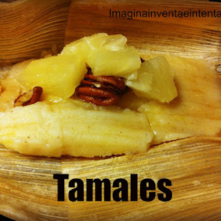 Pineapple and Yogurt Tamales