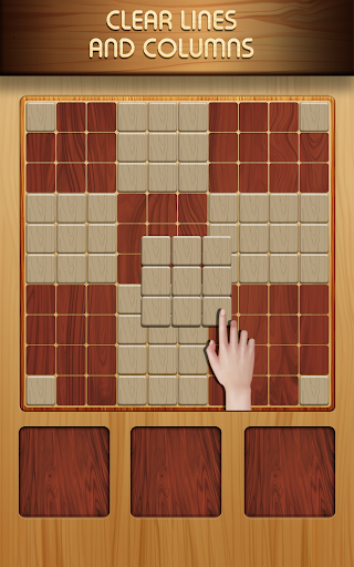 Block Puzzle Wood 1010: Classic Free puzzledom  screenshots 6