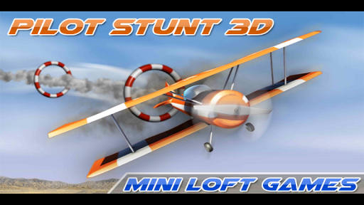 Airplane Pilot Stunts 3D