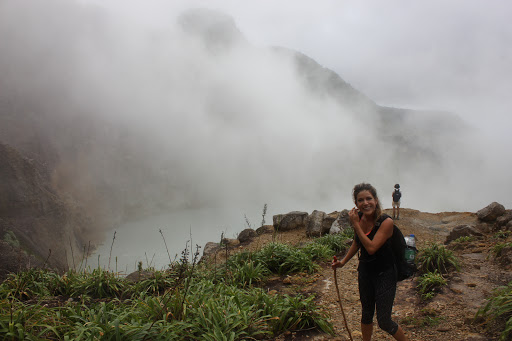 The hike to the Boiling Lake in Dominica